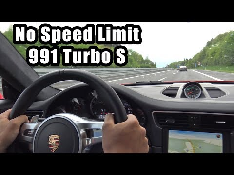 780HP Porsche 991 Turbo S PP-Performance – Autobahn, Revs, Accelerations!