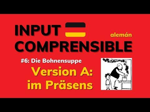 Adquirir alemán con una historieta: INPUT COMPRENSIBLE #6   versión: PRÄSENS