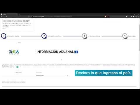 Cómo llenar el formulario digital (e-Ticket) para viajar a República Dominicana | @MTurismoRD