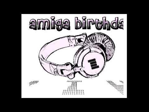 Amiga Birthday Committee - Alpa's World Spin Day - Amiga Intro (50 FPS)