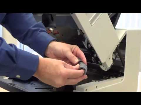 How to Replace the Tires for the Kodak i4000 and i5000 Series Scanners Preview