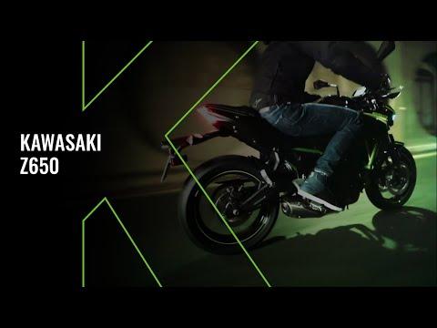New Kawasaki Z650 MY20 - Technical Video
