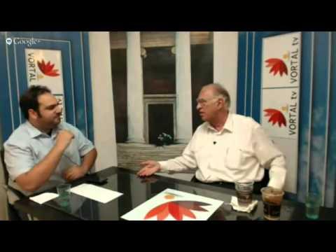 Ο Πρόεδρος της ΈΝΩΣΗΣ ΚΕΝΤΡΩΩΝ'' Βασίλης Λεβέντης στο VORTAL TV
