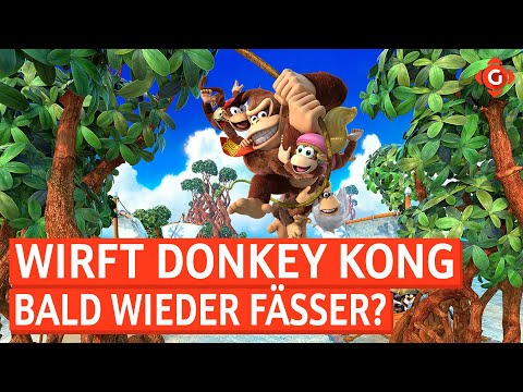 Donkey Kong: Arbeitet Nintendo am Comeback? The Witcher: Monster Slayer: Release-Termin! | GW-NEWS