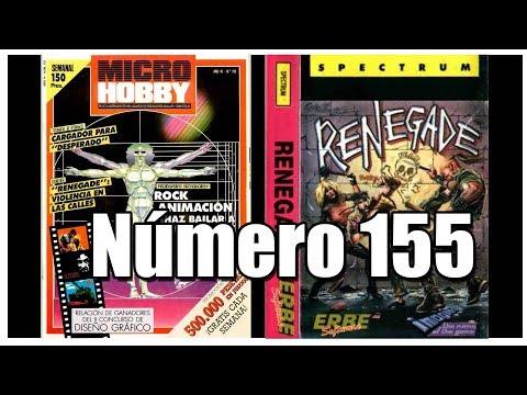 MICROHOBBY 155   RENEGADE   ZX SPECTURM   MAGAZINE