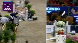 Peder Fredricson vs Eduardo Alvarez Aznar - Head-to-Head | Longines FEI Jumping World Cup™ FINAL II