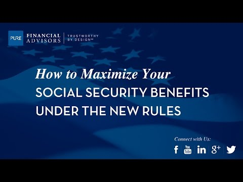 [Webinar] Maximizing Your Social Security Benefits Under New Rules