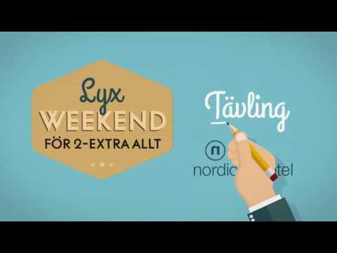 Tävling: Lyxweekend för 2 - extra allt!