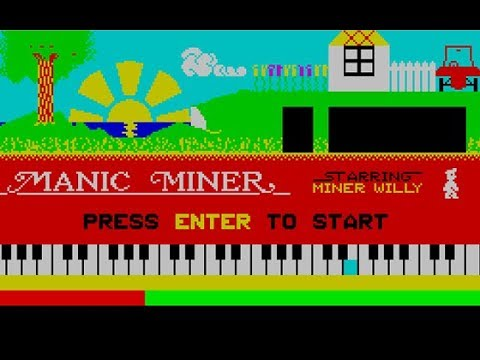 Manic Miner para Commodore 64 - RETROJuegos de Fabio Didone #RETROJuegos byFabio