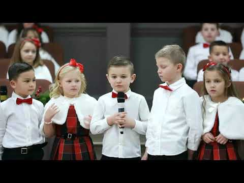 kids poem, kids at Church of Hope, 12/22/2019