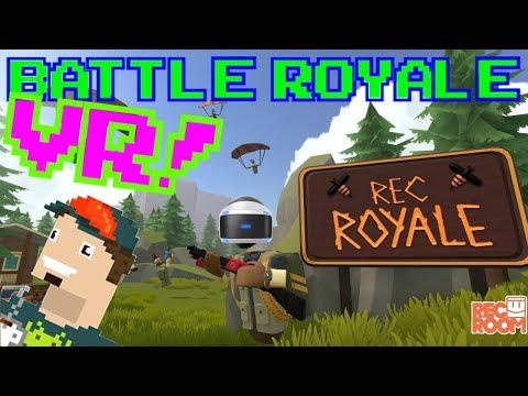 BATTLE ROYALE EN VR!! || Rec Royale PSVR