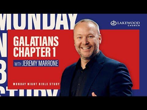 Galatians 1 Bible Study  Jeremy Marrone  2021