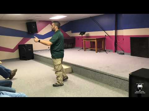 Teaching A Church Safety Class In Kansas (Part 2)