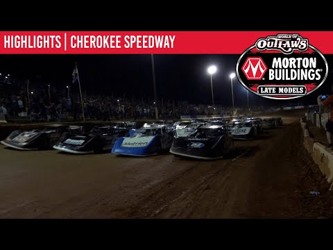 World of Outlaws Morton Building Late Models at Cherokee Speedway September 2, 2021 | HIGHLIGHTS - dirt track racing video image