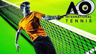 Vidéo-Test : AO INTERNATIONAL TENNIS : Le test en TOC | Gameplay FR