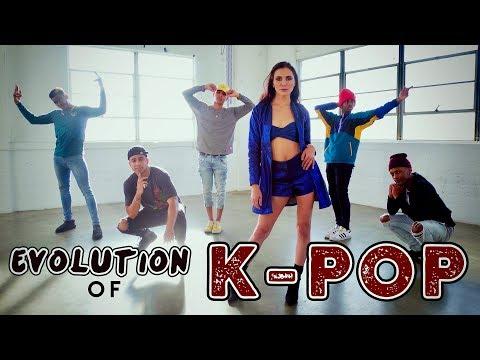 Evolution of K-POP!! (ft. Alyson Stoner & Next Town Down) - UCplkk3J5wrEl0TNrthHjq4Q
