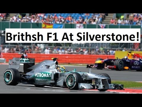 Attending British Formula 1 Race At Silverstone