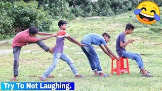 TRY NOT TO LAUGH - Funny comedy videos 2019 - Episode 70 || Hiphop BDT ||