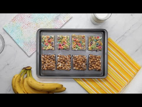 How To Make Milk And Cereal Brownies And Blondies