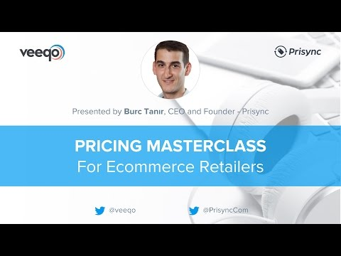 Pricing Masterclass for Ecommerce Retailers