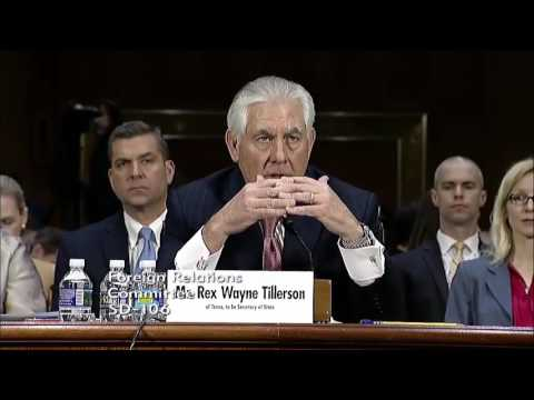 Rubio questions secretary of state nominee Rex Tillerson on Russia