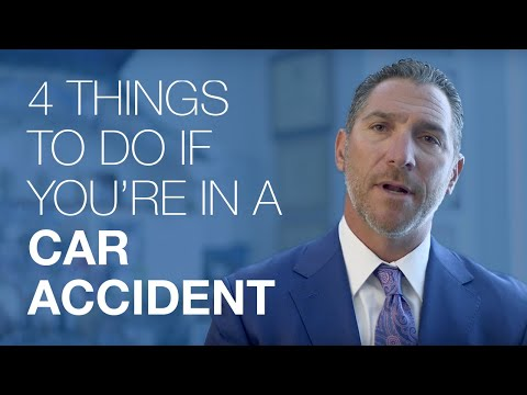 4 Things To Do If You're In A Car Accident