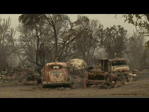 Almeda Fire destroys buildings and cars in Oregon   AFP photo