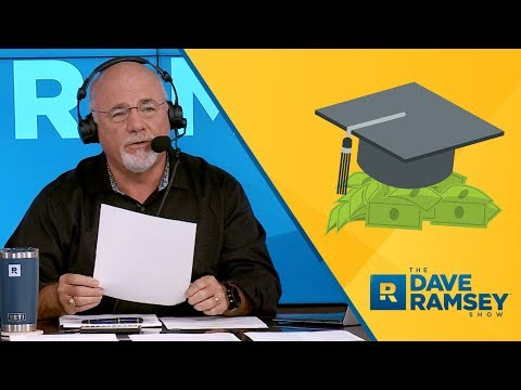 Is Now The Hardest Time To Pay Cash For College? - Dave Ramsey Rant