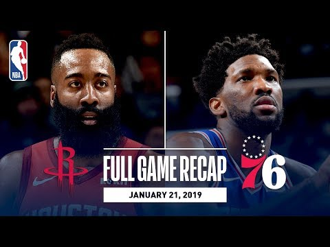 Full Game Recap: Rockets vs 76ers | Embiid Leads Philly With 32 & 14