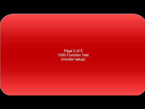 7000 Non ASC Function Test - Chapter 2