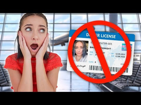 Bailey FORGETS Her Driver's License, Will She Make Her Flight??