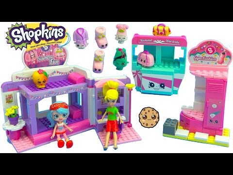 Shoppies Jessicake & Polly Pocket Go To Shopkins Slumber Party Fun Kinstructions Playset - UCelMeixAOTs2OQAAi9wU8-g