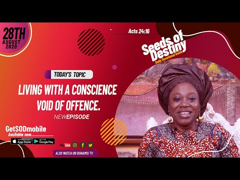 Dr Becky Paul-Enenche - SEEDS OF DESTINY - FRIDAY AUGUST 28, 2020