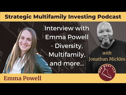 012: Interview with Emma Powell - Diversity, Multifamily, and more...
