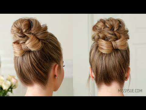 High Bun Bow Accent | Missy Sue