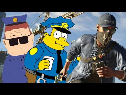 The Cops in Watch Dogs 2 Are Stupid Idiots - Up At Noon Live
