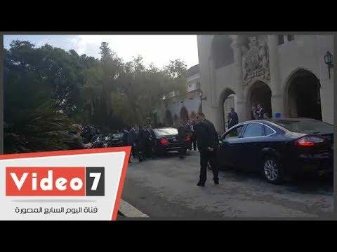 الرئيس السيسي يصل القصر الجمهوري في قبرص