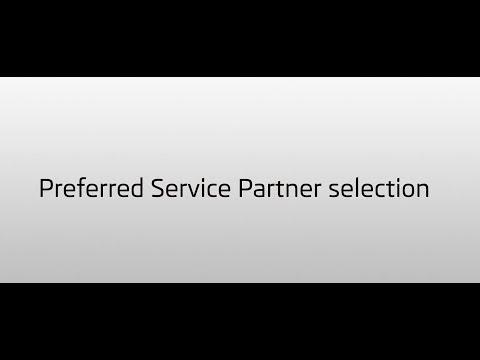 Hur du väljer din fördragna servicepartner