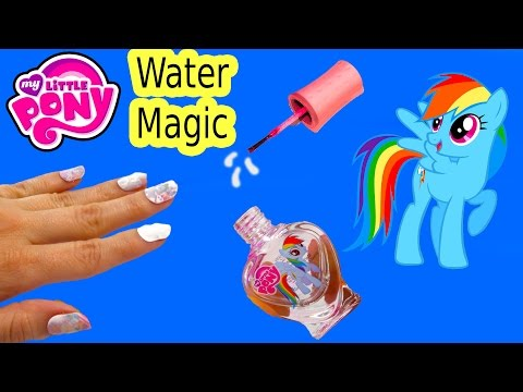MLP Water Magic Rainbow Dash Nail Polish Art Kit My Little Pony Toy Review Fail Video Unboxing - UCelMeixAOTs2OQAAi9wU8-g