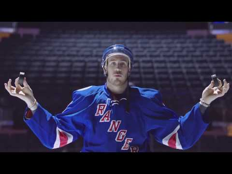 Mantra with The New York Rangers' Kevin Hayes
