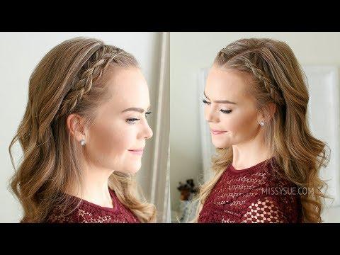 Easy Dutch Braided Headband | Missy Sue