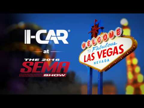 I-CAR at SEMA 2016: Repairability Technical Support (RTS)