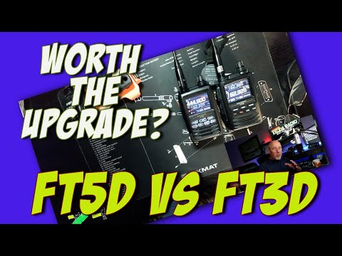 My first look at the Yaesu FT5D