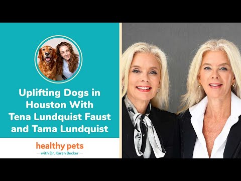 Uplifting Dogs in Houston With Tena Lundquist Faust and Tama Lundquist