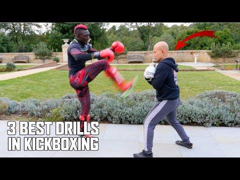 3 Best kickboxing drills | Kickboxing  - Self defence New Series