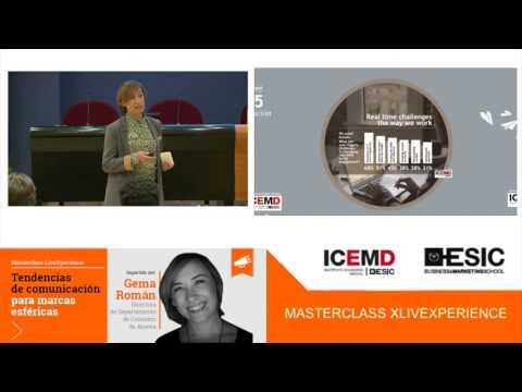 Masterclass LiveXperience: Tendencias de comunicación para marcas esféricas
