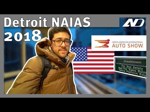 Auto Show de Detroit 2018 - Vlog Gabo Salazar