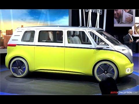 Transportation Design: Volkswagen I.D. Buzz Concept (Live at 2017 NAIAS)