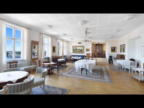 Salongen på Ersta konferens & hotell – cafésittning