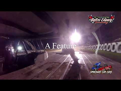 #41 JW Scott - Midwest Mod - 8-13-2021 Dallas County Speedway - In Car Camera - dirt track racing video image